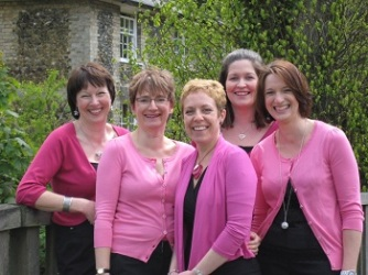 Five piece female vocal harmony group from Sudbury, Suffolk