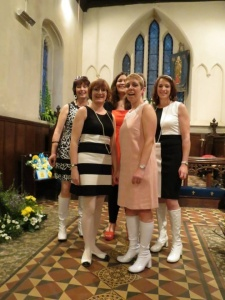 Accidentals at St Andrews Church, June 2013