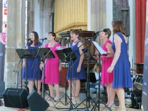 Accidentals fundraise for Cancer Rsesearch UK